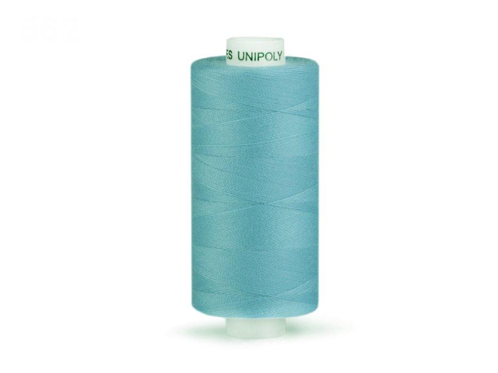 Šicí nit Unipoly 120 návin 500 m / 563 - světlá modrošedá