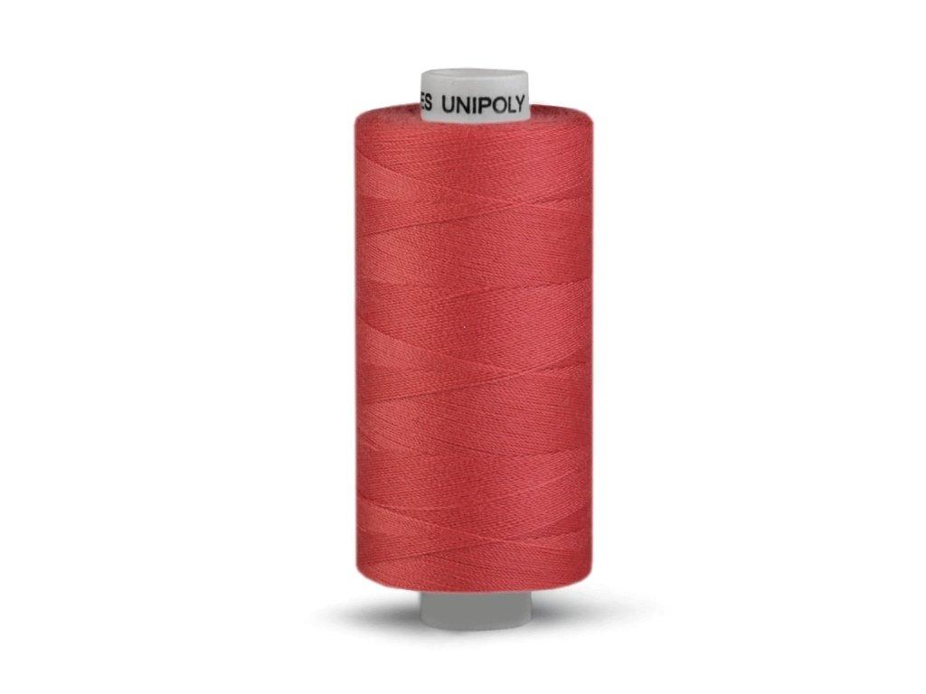 Šicí nit Unipoly 120 návin 500 m / 377 - tmavě rezavá