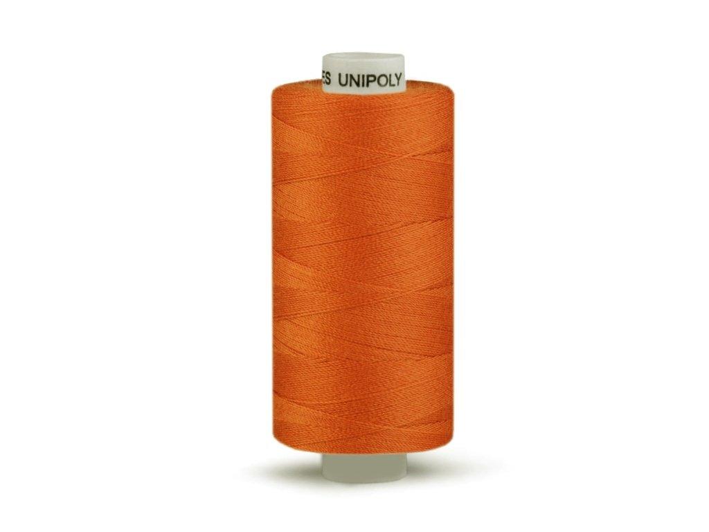 Šicí nit Unipoly 120 návin 500 m / 273 - tmavě rezavá
