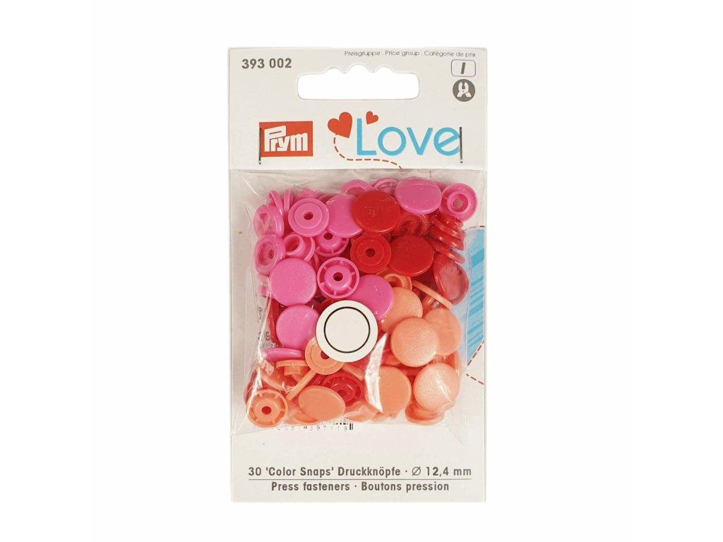 "Patentky ""Color snaps"" PRYM LOVE - 002"