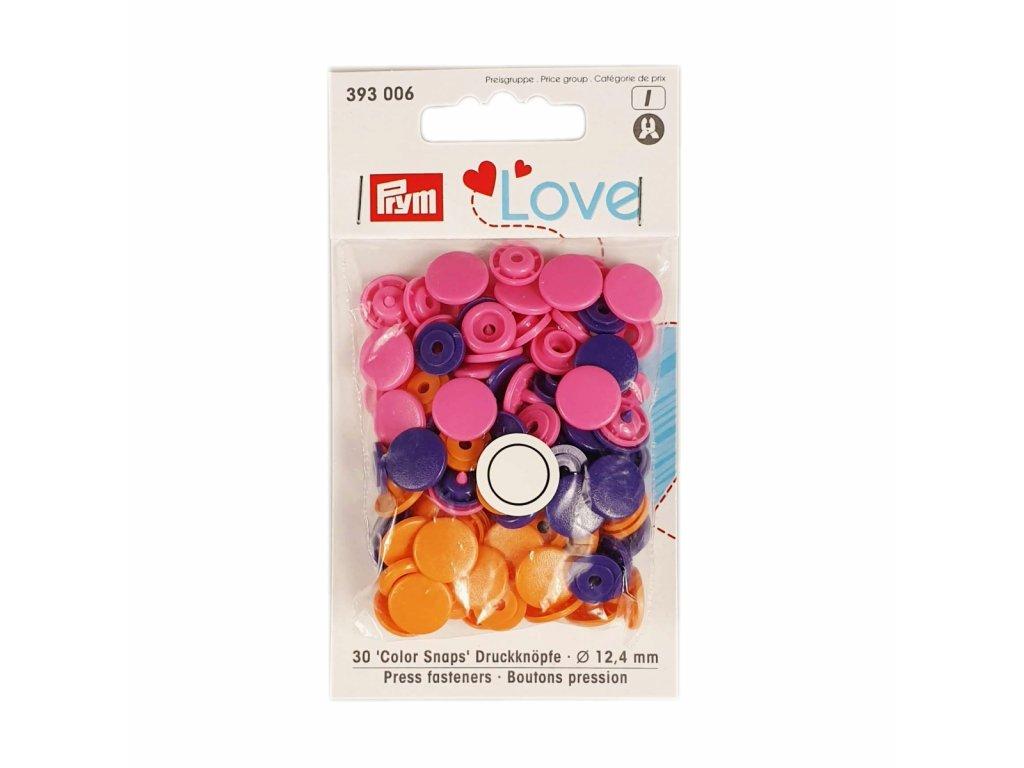 "Patentky ""Color snaps"" PRYM LOVE - 006"