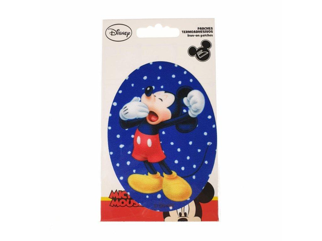 Dětská nažehlovací záplata Mickey Mouse I.