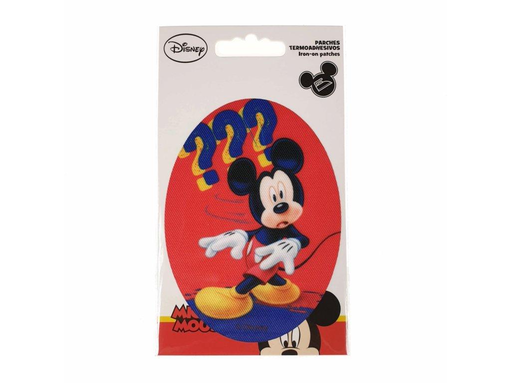 Dětská nažehlovací záplata Mickey Mouse V.