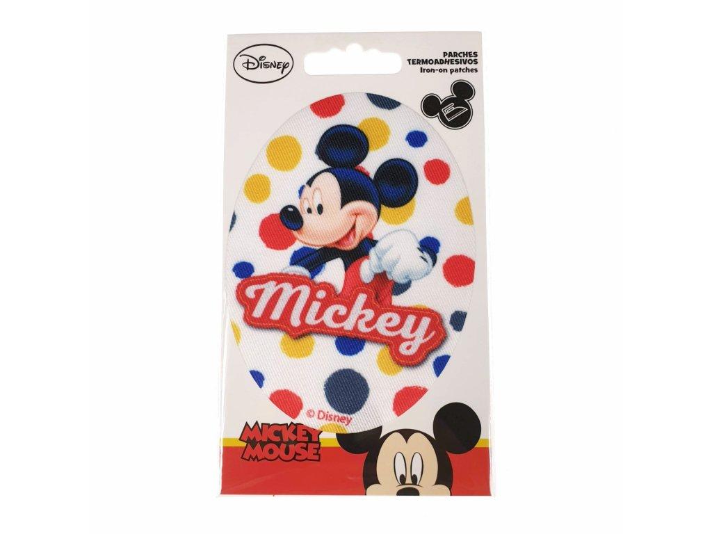 Dětská nažehlovací záplata Mickey Mouse VIII.