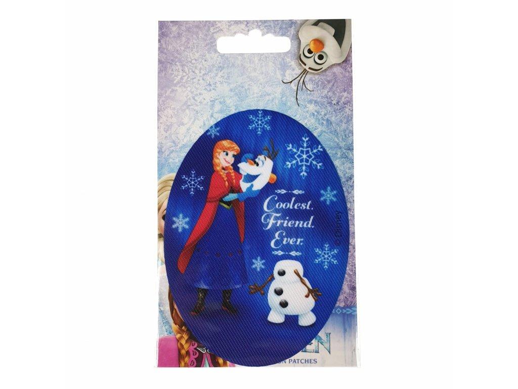 Dětská nažehlovací záplata Disney Frozen III.
