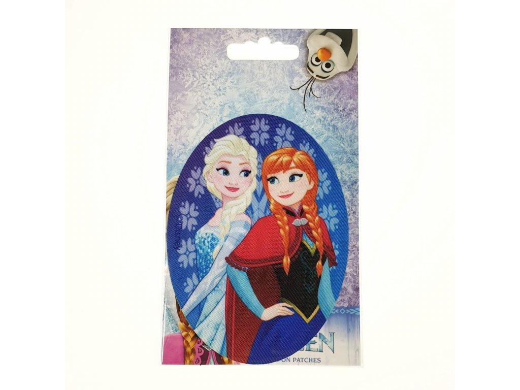 Dětská nažehlovací záplata Disney Frozen VII.