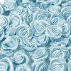 Růžička saténová Ø 10-12mm (10 kusů) - sv. modrá