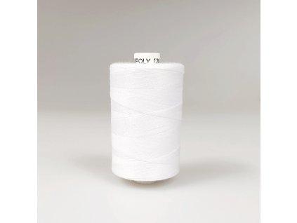 Šicí nit Unipoly 120 návin 1000 m / 001 - bílá