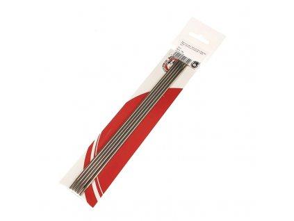 Pletací jehlice ponožkové 3 nerez