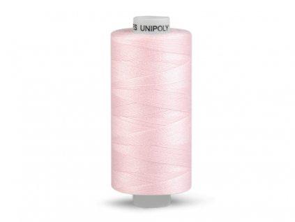 Šicí nit Unipoly 120 návin 500 m / 370 - bleděrůžová