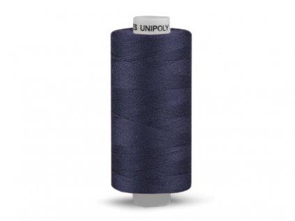 Šicí nit Unipoly 120 návin 500 m / 549 - tmavě modrá
