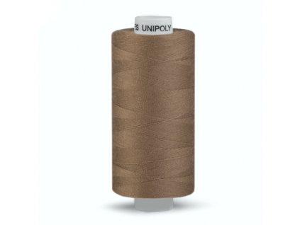 Šicí nit Unipoly 120 návin 500 m / 745 - oříškově hnědá
