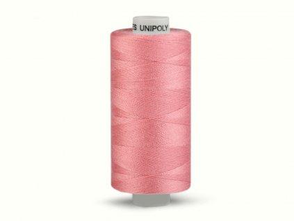 Šicí nit Unipoly 120 návin 500 m / 372 - starorůžová