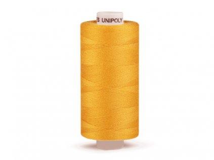 Šicí nit Unipoly 120 návin 500 m / 128 - jantarová