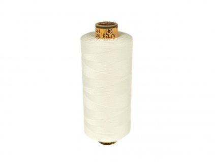 Polyesterová šicí nit Belfil-S 120 1000 m / 2000 - bílá
