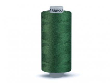 Šicí nit Unipoly 120 návin 500 m / 636 - olivová zeleň