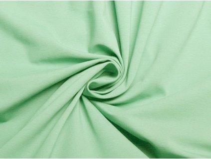 bavlneny uplet zeleny