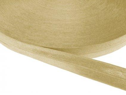 Pruženka lemovací šíře 20 mm - capuccino