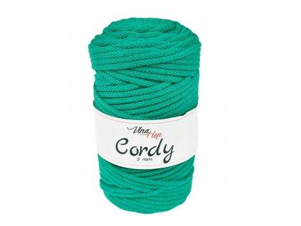 Šňůra Cordy 5 mm - modrozelená