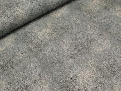 Elastická teplákovina DIGI - šedá džínový efekt