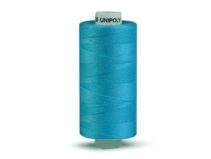 Šicí nit Unipoly 120 návin 500 m / 659 - papouščí modř