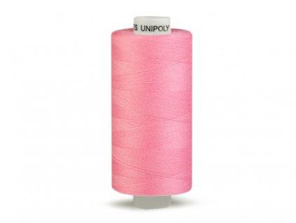Šicí nit Unipoly 120 návin 500 m / 332 - růžová