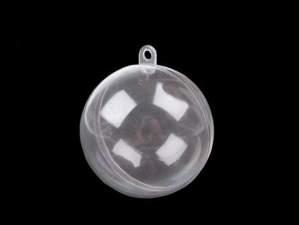 Plastová koule 6 cm dvoudílná