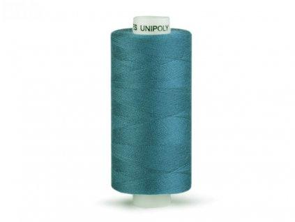 Šicí nit Unipoly 120 návin 500 m / 567 - uhlová modř