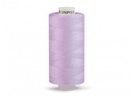 Šicí nit Unipoly 120 návin 500 m / 452 - ledově fialová