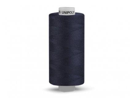 Šicí nit Unipoly 120 návin 500 m / 598 - temně modrá