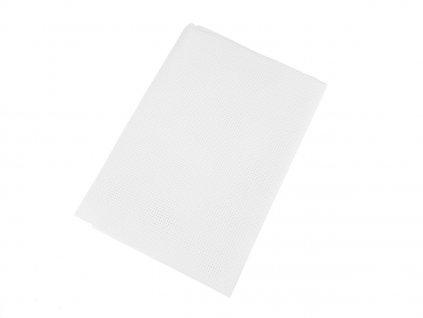 Vyšívací tkanina Kanava 5 / 50x70 cm - bílá