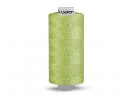 Šicí nit Unipoly 120 návin 500 m / 630 - zelená světlá