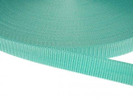 Popruh polypropylénový šíře 20 mm - mentol