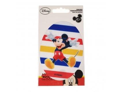 Dětská nažehlovací záplata Mickey Mouse III.