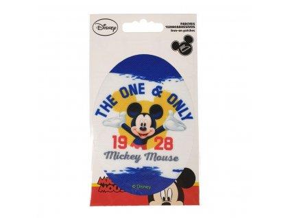 Dětská nažehlovací záplata Mickey Mouse VII.