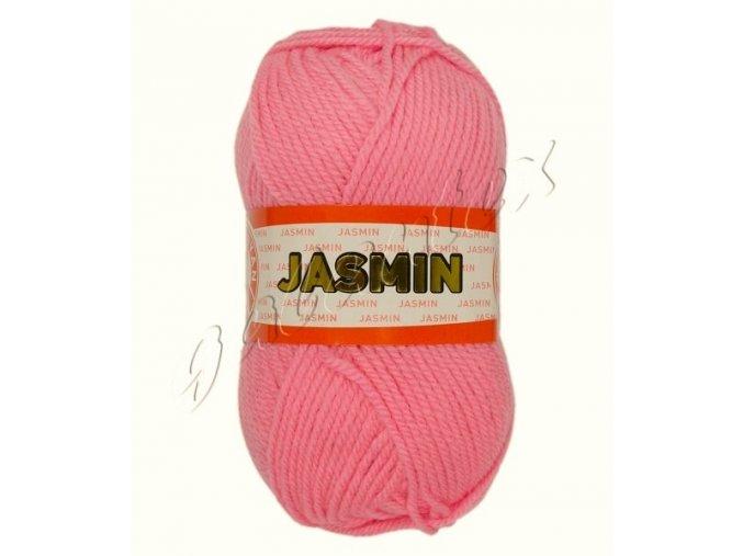 Pletací příze Jasmin / 040 - růžová