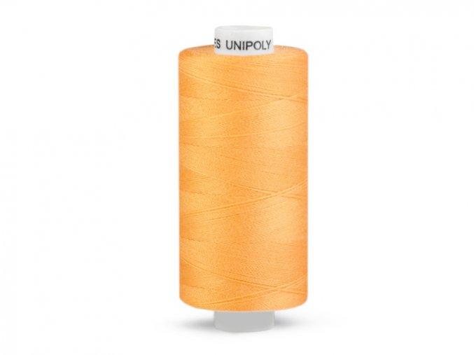 Šicí nit Unipoly 120 návin 500 m / 175 - světle oranžová