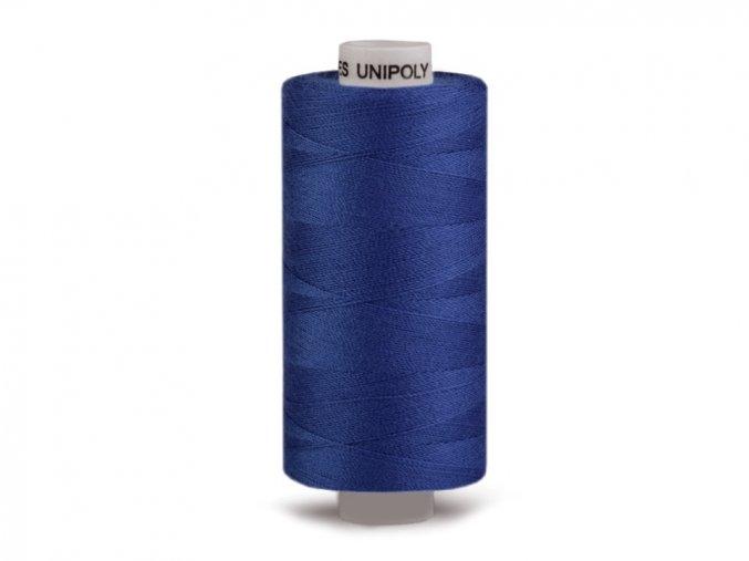 Šicí nit Unipoly 120 návin 500 m / 556 - královská modř
