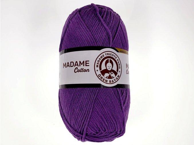 Příze Madame Cotton / 021 - fialová