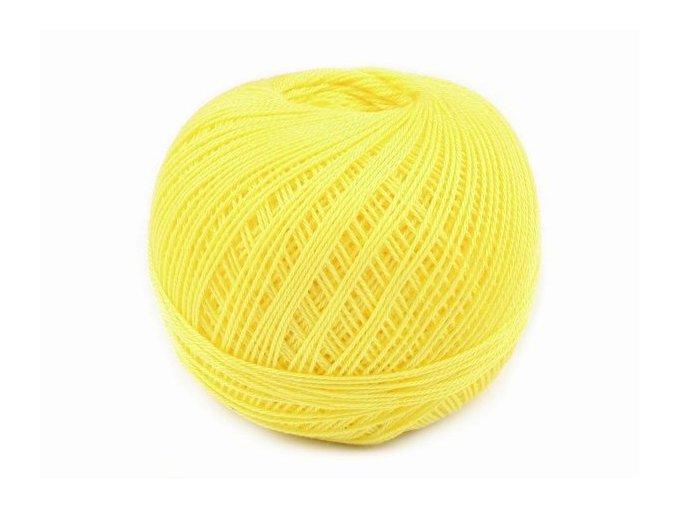 Háčkovací příze Sněhurka / 1144 - žlutá