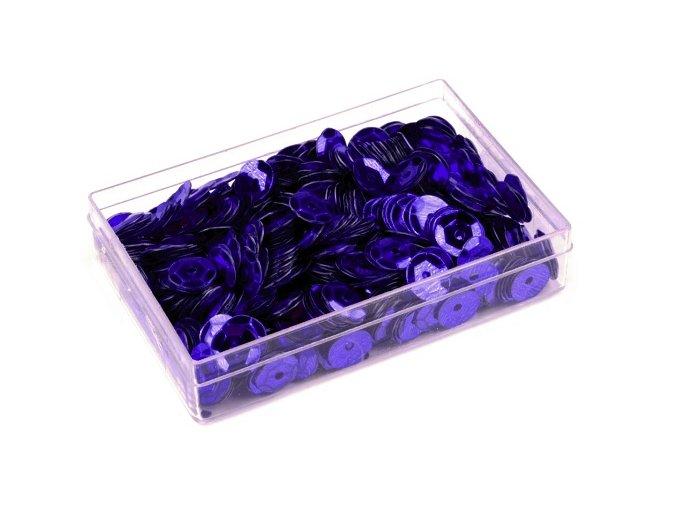 Flitry Ø6mm v krabičce 7g  - modré