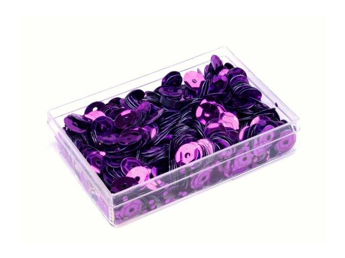 Flitry OE6mm v krabičce 7g  - fialové