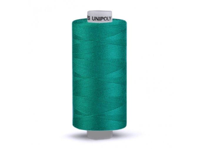 Polyesterová šicí nit Unipoly 120/500m / 656 - petrolejová
