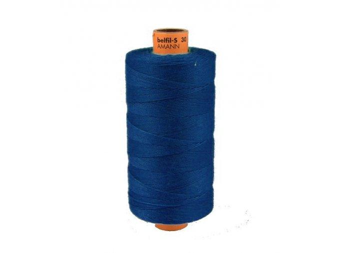 Riflová šicí nit Belfil-S 30 návin 300m / 1304 - tm. modrá