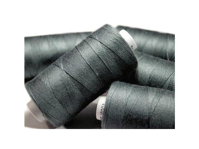 Nitě riflové UNIPOLY 30 návin 200m / 887 - tmavě šedá