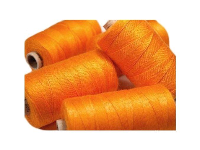 Nitě riflové UNIPOLY 30 návin 200m / 224 - oranžová