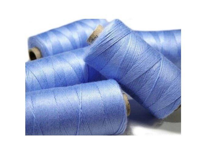 Nitě riflové UNIPOLY 30 návin 200m / 552 - blankytná modř