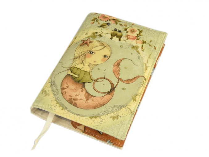 Nastavitelný obal na knihu - Mirabelle Adrift IV.