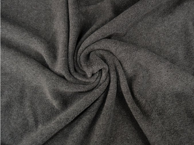 Fleece micropolar antipeeling - antracit