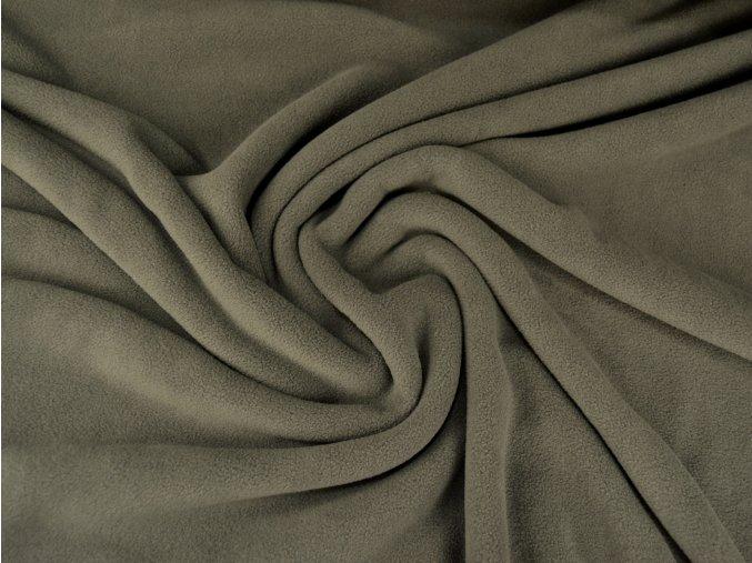 Fleece micropolar antipeeling - hnědošedý